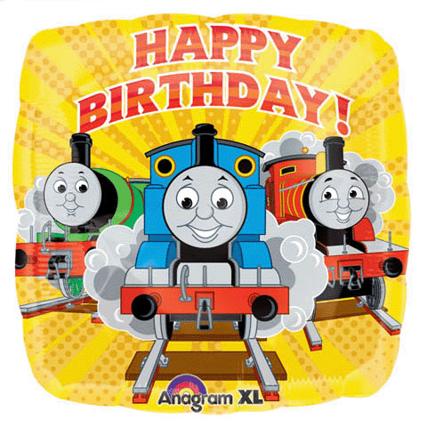 Thomas the Tank Engine Happy Birthday - Uninflated